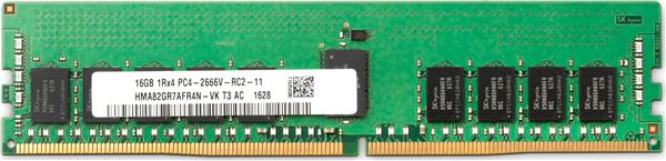 HP MEM 16GB DDR4-2666MHz DIMM PC4-21300 NON-ECC CL19 1.2V