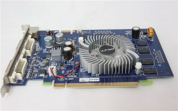 PNY GRAPHIC CARD ADAPTER NVIDIA GEFORCE 9500GT 512MB DDR2 PCI-E