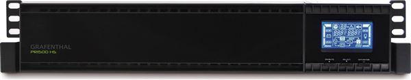 GRAFENTHAL USV PR-1500-HS PROGRAMMABLE ECO MODE RACK MOUNT 2U USB RS232 LCD