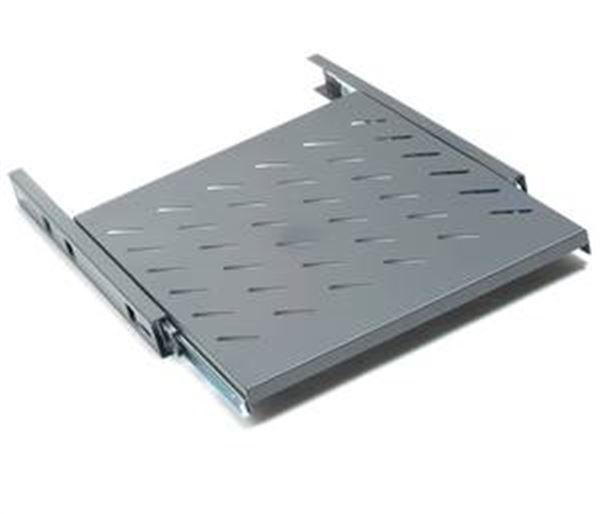 GRAFENTHAL SHELF 19'' D550 PULL-OUT MAX. 50KG BLACK, 550MM TIEF