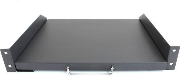 GRAFENTHAL SHELF 19'' D600 PULL-OUT MAX. 12KG BLACK