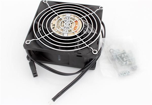 GRAFENTHAL RACK FAN 1x VENTILATOR FOR WALL MOUNT & COMPACT OFFICE RACK