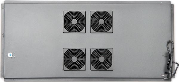GRAFENTHAL RACK FAN 19'' 4x VENTILATOR D1200 WITH THERMOSTAT