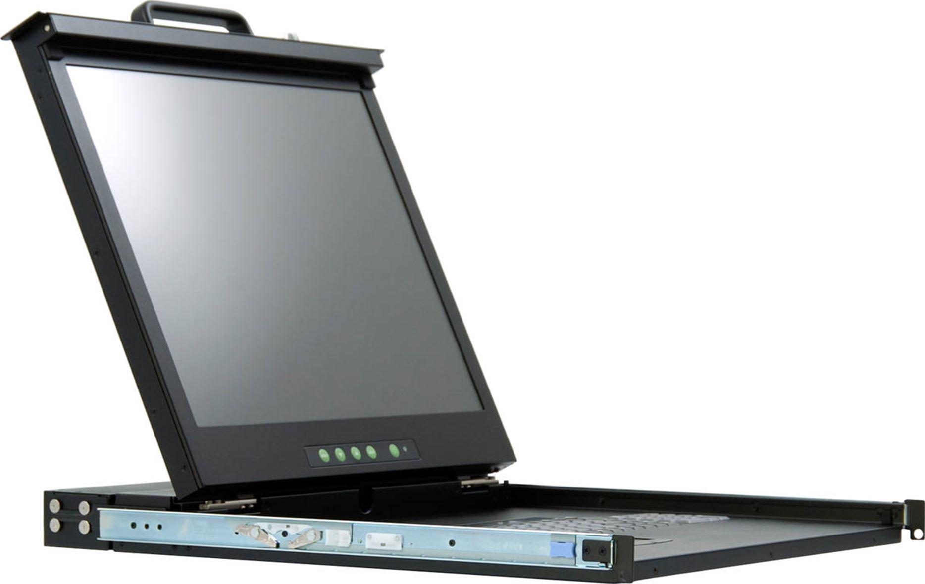GRAFENTHAL RC-1716 CONSOLE TFT 17'' TFT 16 PORT KVM USB PS2