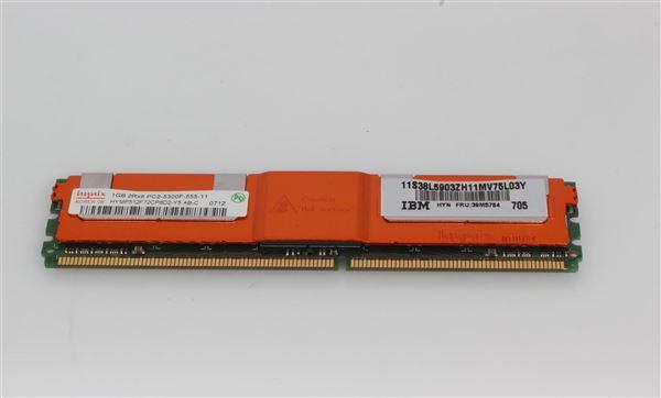 IBM MEM 1GB MODUL PC2 5300 DDR2 CL4