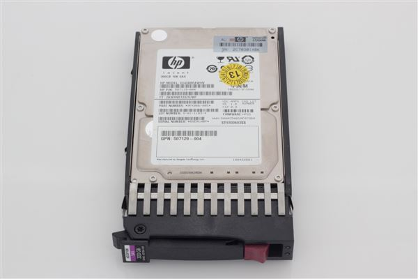 HP HDD 300GB 10K SAS SFF 2.5'' DUAL-PORT 6GB/SEC HOTPLUG