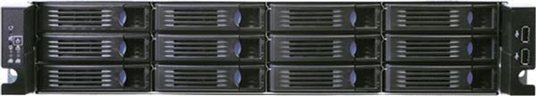 CHENBRO RACK CHASSIS RM23512 2U 12xHS 3,5 12PORT MINI-SAS EXPANDER BACKPLANE