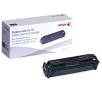 XEROX COLOR TONER F. HP CB540A Xerox Black Toner Cartridge equivalent to HP 125A for use in:HP CLJ C