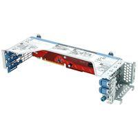 HP DL380 GEN9 PRIMARY 2SLOT GPU READY RISER KIT SLOT1:1xGEN3x16/1xGen3 x8FH/FL