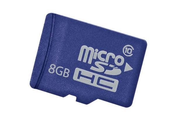 HP ENT MAINSTREAM FLASH MEDIA KIT 8GB MICROSD
