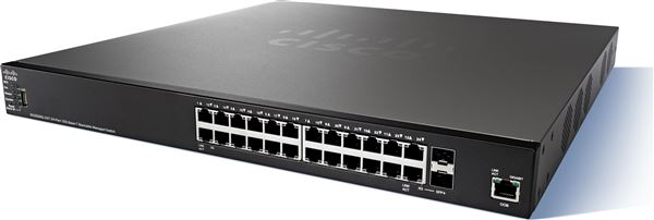 CISCO SMALL BUSINESS SWITCH SG 350XG-24T 22x10GBASE-T + 2 x C 10 G-BIT SFP+ RACK