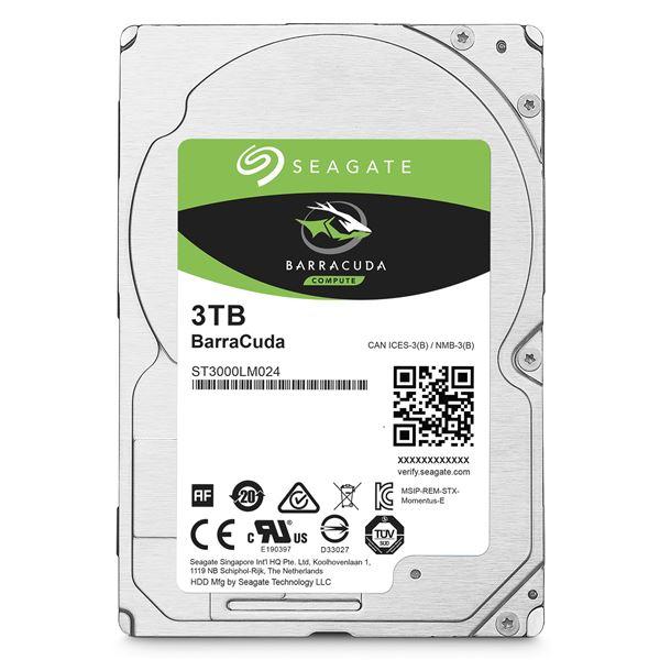 SEAGATE HDD 3TB 5.4K SATA 6Gb/s 2.5''